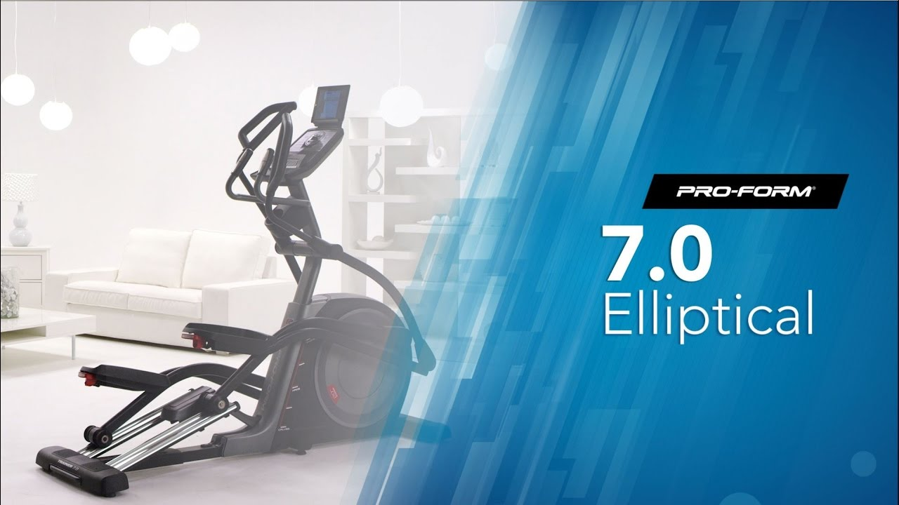 test velo elliptique proform